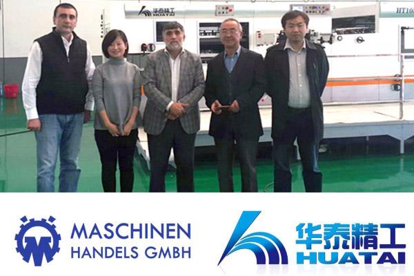 Handelspartner MKS Huatai China Contract signing