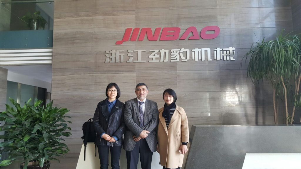 Nancy Wang (Jinbao), Mehmet Karakus (MKS), Amy Lin (Jinbao)