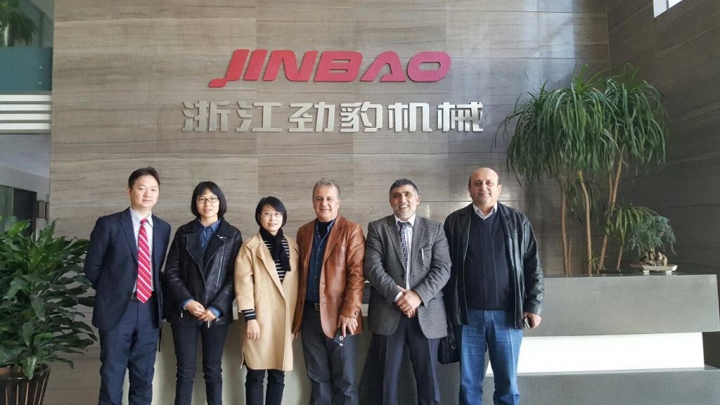 Jimmy Jin (MKS China), Nancy Wang (Jinbao), Amy Lin (Jinbao), Mehmet Avci (Avci Ofset), Mehmet Karakus (MKS), Mehmet Evgin (Reprotek)