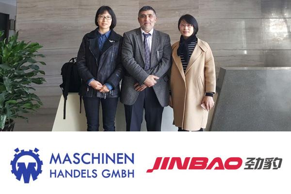 MKS und Jinbao Maschinen Partner